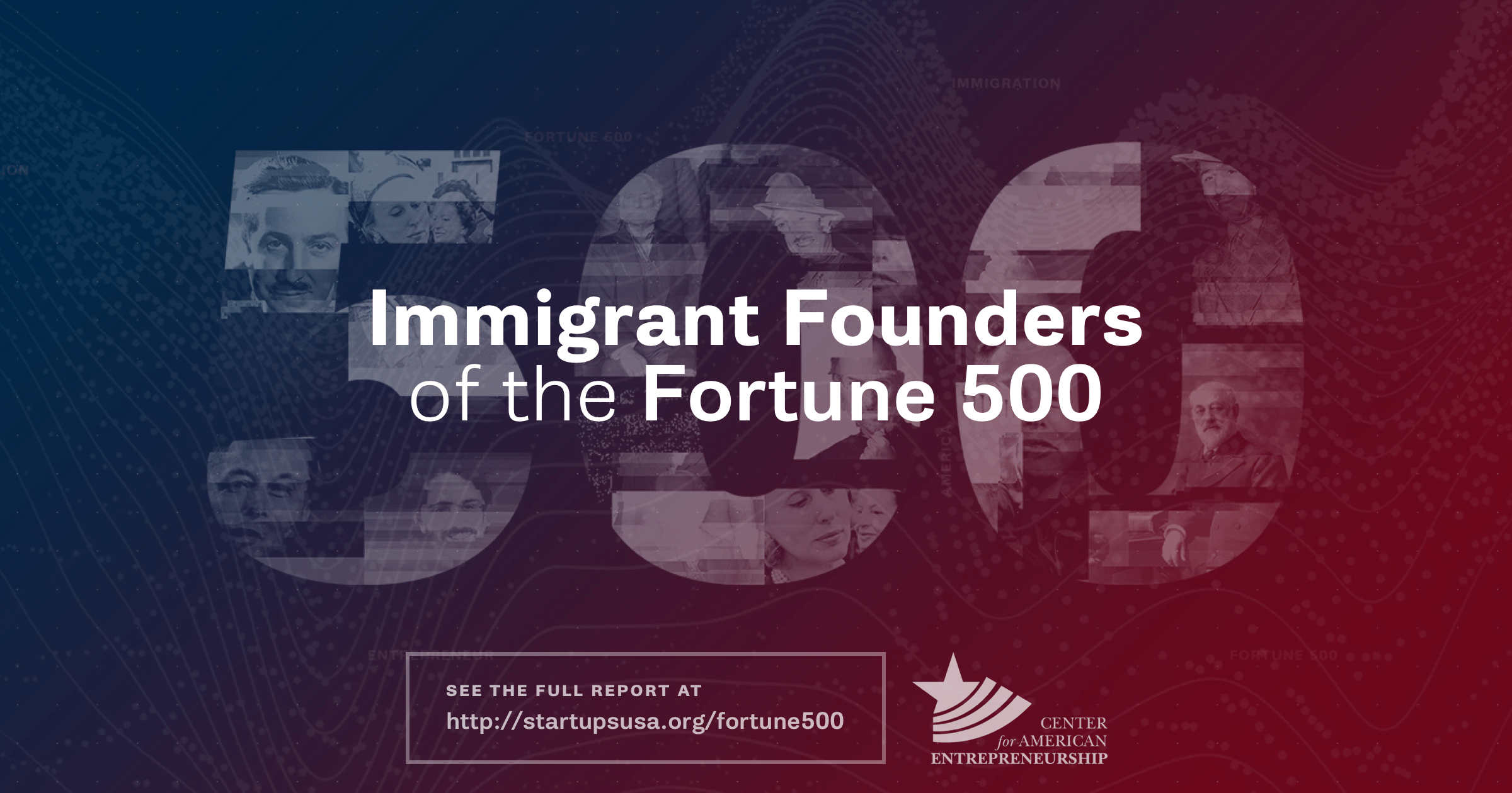 Immigrant Founders of the 2017 Fortune 500